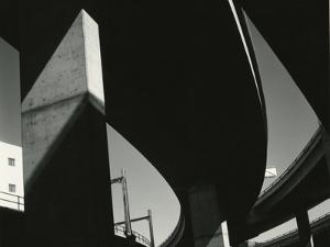 Overpass, Oregon, 1967 by Brett Weston