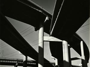 Overpass, Oregon, 1971 by Brett Weston
