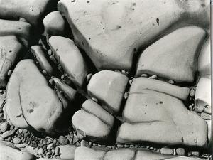 Rock and Pebbles, c. 1955 by Brett Weston