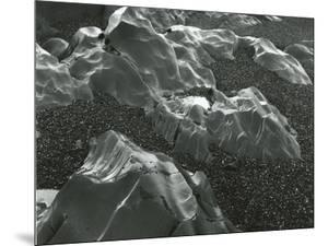 Rock and Pebbles, Pebble Beach, California, 1968 by Brett Weston