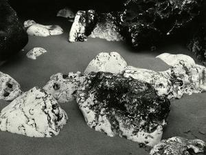 Rock and Sand, Europe, 1971 by Brett Weston