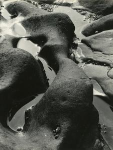Rock and Water, Point Lobos, California, 1934 by Brett Weston