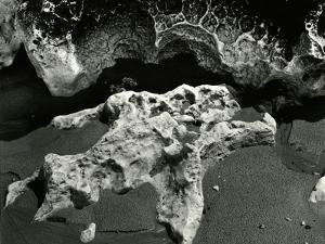 Rock Formation, Europe, 1971 by Brett Weston