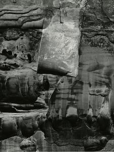 Rock Wall, Glen Canyon, 1975 by Brett Weston