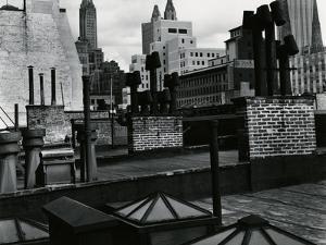 Rooftops, New York, 1943 by Brett Weston