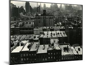 Rooftops, New York, c. 1945 by Brett Weston