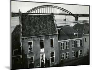 Row Houses with Bridge, Holland, 1960 by Brett Weston