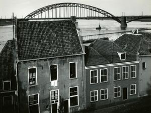 Row Houses with Bridge, Holland, 1960 by Brett Weston