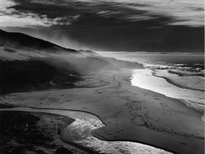 Shoreline, Big Sur, 1981 by Brett Weston