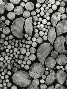 Stacked Wood, c.1970 by Brett Weston