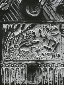 Stone Carving, c. 1975 by Brett Weston