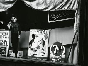 Storefront Window, New York, 1943 by Brett Weston