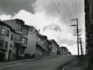 Street, San Francisco, c. 1930 by Brett Weston