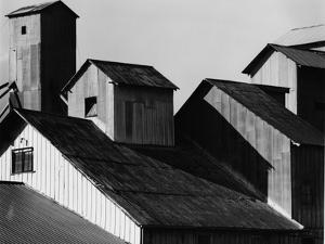 Tin Roof Barn, c. 1970 by Brett Weston