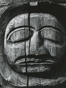 Totem Head, Alaska, 1973 by Brett Weston