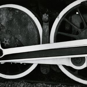 Train Detail, 1972 by Brett Weston
