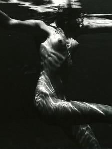 Underwater Nude, 1981 by Brett Weston