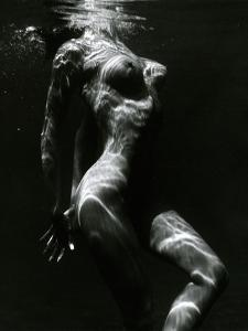 Underwater Nude, c. 1980 by Brett Weston