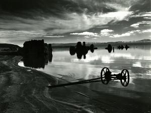 Wagon, Mono Lake, 1955 by Brett Weston