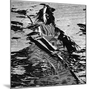 Wallpaper and Wood, 1973 by Brett Weston