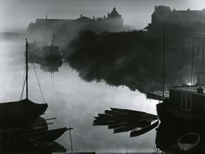Water, Fog, Boats, 1960 by Brett Weston