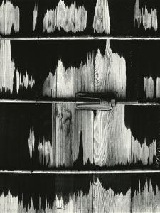 Wood and Metal, 1972 by Brett Weston
