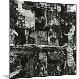 Wrecked Building, 1976 by Brett Weston