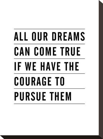 All Dreams Can Come True