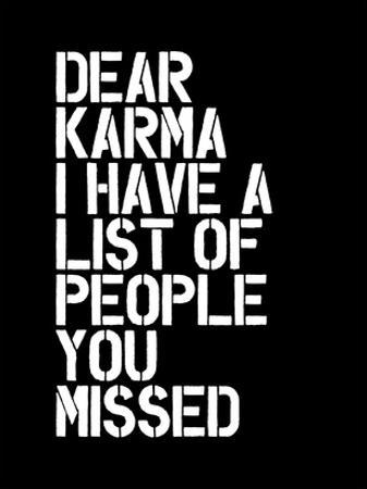 Dear Karma Blk