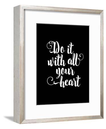 Do It With All Your Heart BLK