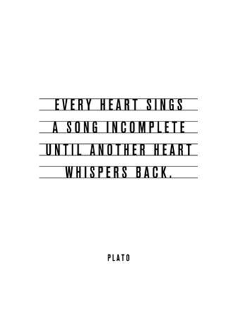 Every Heart Sings A Song Incomplete