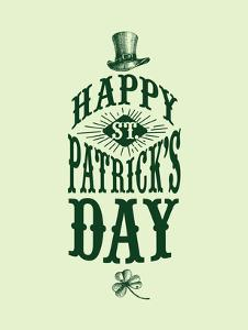 Happy St Patricks Day by Brett Wilson