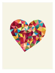 Heart Polygon by Brett Wilson