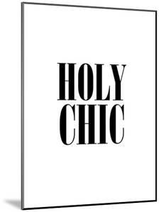Holy Chic White by Brett Wilson