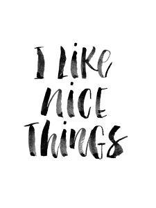 I Like Nice Things by Brett Wilson