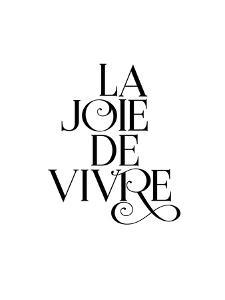 La Joie De Vivre Fancy by Brett Wilson