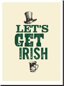 Lets Get Irish by Brett Wilson