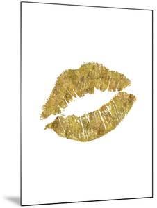 Lips Gold by Brett Wilson