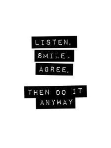 Listen Smile Agree by Brett Wilson