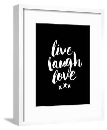 Live Laugh Love Blk