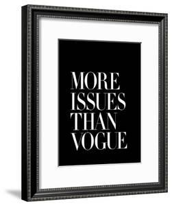 More Issues Than Vogue Black by Brett Wilson