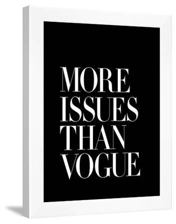 More Issues Than Vogue Black by Brett Wilson