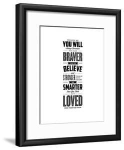 Promise Me You Will Always Remember You Are Braver by Brett Wilson