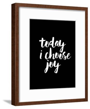 Today I Choose Joy BLK