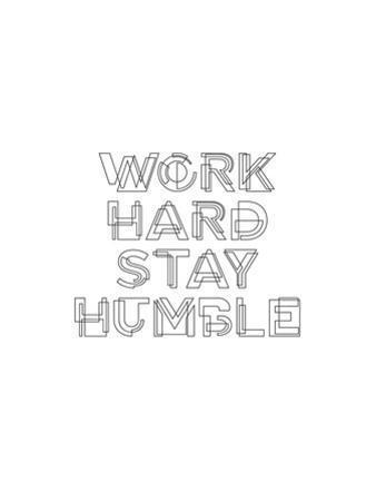 Work Hard Stay Humble Geo