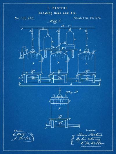 Brewing Beer Patent--Art Print