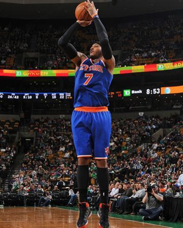 Mar 12, 2014, New York Knicks vs Boston Celtics - Carmelo Anthony