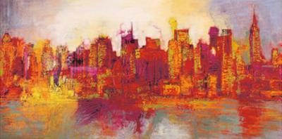 Abstract New York City by Brian Carter