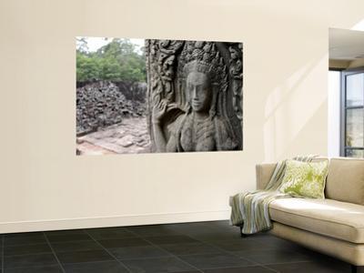 Wall Detail at Angkor Wat