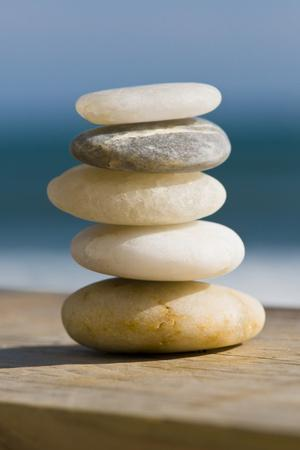 A Stack of Smooth Stones